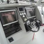 Deep Impact Black Carbon Fiber Boat Instrument Panel 1