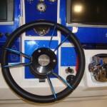 Deep Impact Blue Carbon Fiber Boat Instrument Panel 3