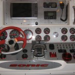 Sonic Powerboats Boat Dash Panel 1